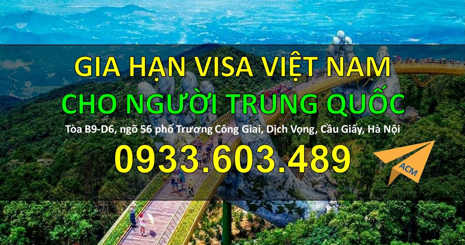 Dia chi gia han Visa Viet Nam cho nguoi Trung Quoc tai cua khau Huu Nghi tron gói